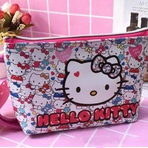 Sanrio Hello Kitty Cosmetic Bag Multi Color Bow